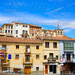 zamora skyline in spain