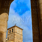 Zamora San Juan church in Plaza Mayor Spain