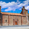 Monasterio church San Pedro apostol Spain