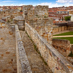 Zamora muralla fortress wall in Spain
