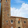 Caceres Ciguenas house tower in Extremadura