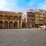 Zamora Plaza Mayor at Spain
