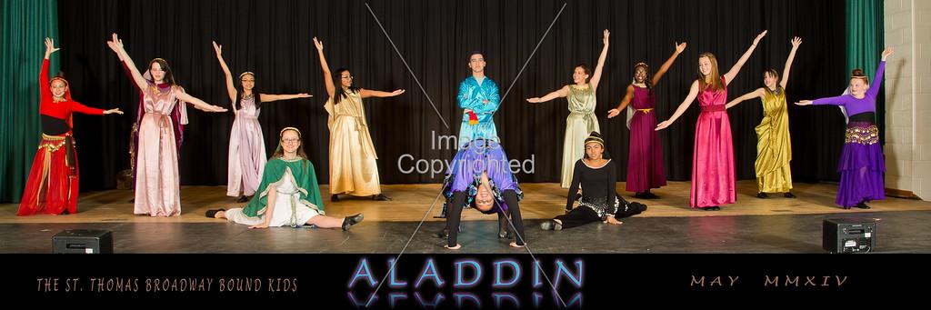 6X18 Genie and Dancers GDVH6593