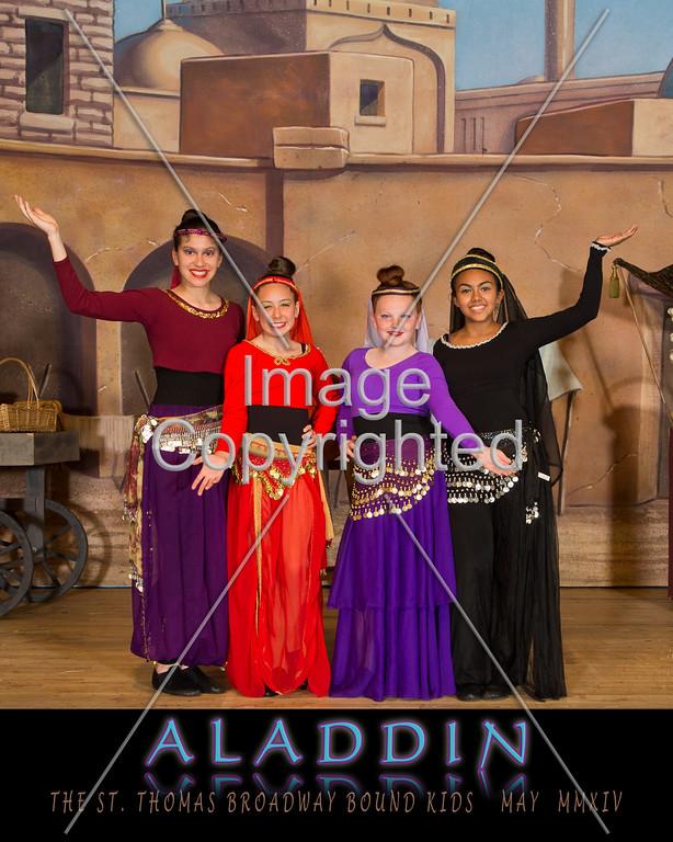 8x10 DANCING GIRLS GDVH6439