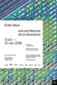 ENTRE-DEUX _ EXPO _ CENTRE DE DESIGN DE L'UQAM _ 2019 _ ©Wendy Moran