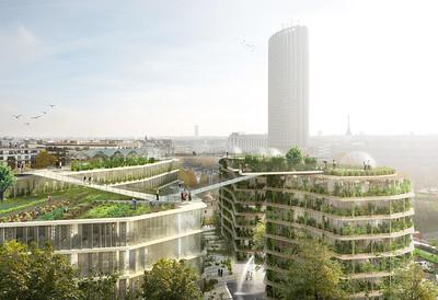 ENTRE-DEUX _ EXPO _ CENTRE DE DESIGN DE L'UQAM _ 2019 _ SFM et Dalix Architectes _ Ternes ©SPLANN