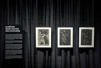 Le béton sous toutes ses coutures_Vernissage_CENTRE DE DESIGN DE L'UQAM_2020_© Benoit Rousseau