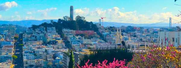Coit Tower in North Beach