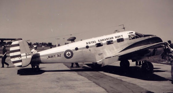 C-45  EXPEDITOR  in it's original livery.