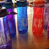 Water bottles for all the thirsty bridesmaids!