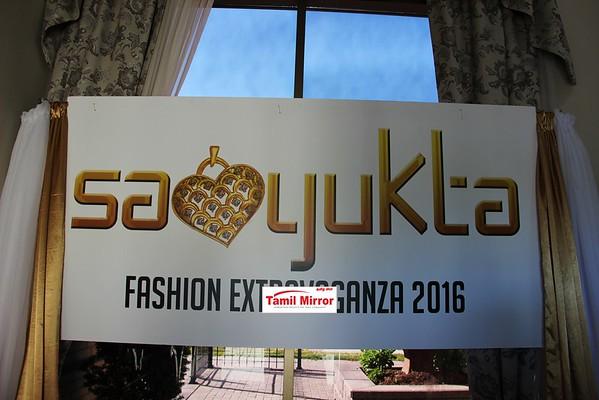 SAMYUKTA FASHION EXTRAVAGANZA -(Part 1) JUNE 12, 2016, TORONTO.