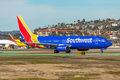 Southwest Airlines Boeing 737-8H4 N8537Z 1-31-20 2
