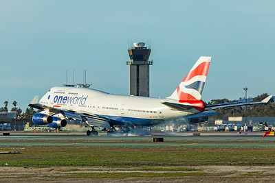 British Airways Boeing 747-436 G-CIVK 1-31-20 2