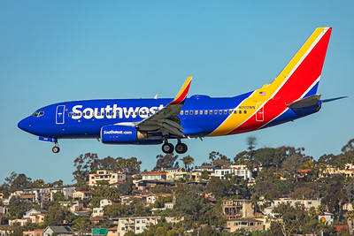 Southwest Airlines Boeing 737-7H4 N202WN 1-31-20