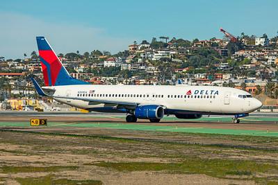Delta Air Lines Boeing 737-832 N399DA 1-31-20