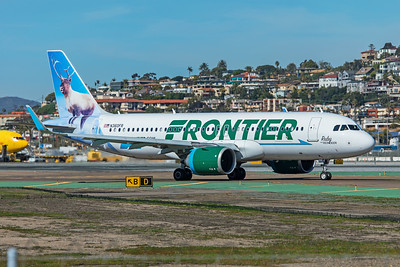 Frontier Airlines Airbus A320-251N N360FR 1-31-20