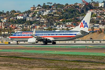 American Airlines Boeing 737-823 N921NN 1-31-20 2