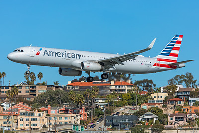 American Airlines Airbus A321-231 N995AN 1-31-20