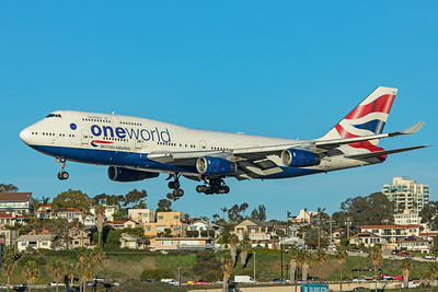 British Airways Boeing 747-436 G-CIVK 1-31-20