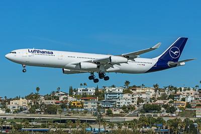 Lufthansa Airbus A340-313 D-AIGT 1-31-20
