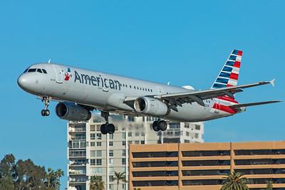 American Airlines Airbus A321-231 N523UW 1-31-20