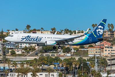 Alaska Airlines Boeing 737-990(ER) N294AK 1-31-20