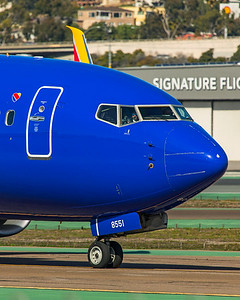 Southwest Airlines Boeing 737-8H4 N8551Q 1-31-20 2