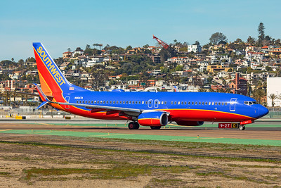 Southwest Airlines Boeing 737-8H4 N8647A 1-31-20 2