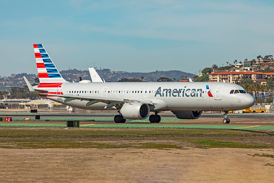 American Airlines Airbus A321-253NX N401AN 1-31-20