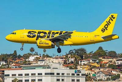 Spirit Airlines Airbus A319-132 N509NK 1-31-20