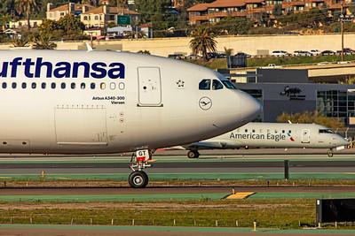 Lufthansa Airbus A340-313 D-AIGT 1-31-20 3