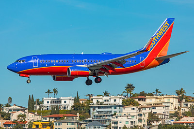 Southwest Airlines Boeing 737-7H4 N217JC 1-31-20
