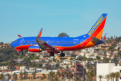 Southwest Airlines Boeing 737-7H4 N253WN 1-31-20
