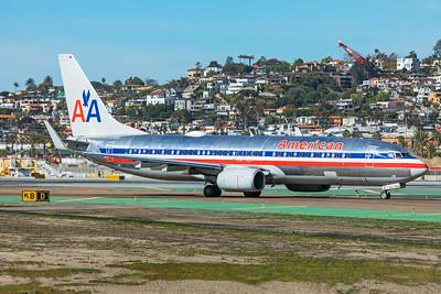 American Airlines Boeing 737-823 N921NN 1-31-20