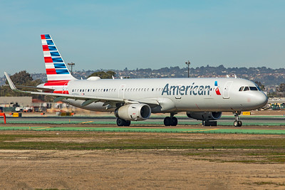 American Airlines Airbus A321-231 N137AA 1-31-20
