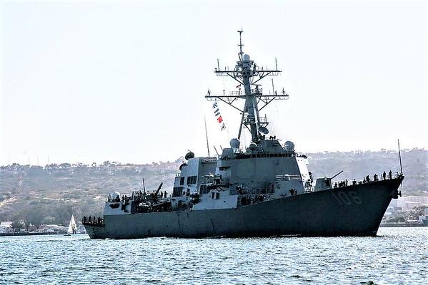 Finally, Navy calls in the big guns to intercept Coyote