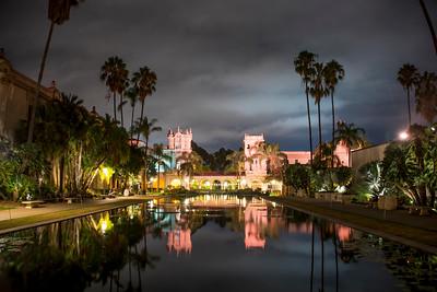 Reflection Pool Balboa Park San Diego