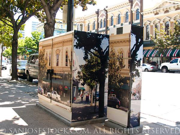 Downtown San Jose Utility Box Beautification Project