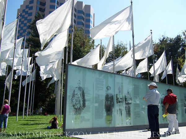 Veteran's Memorial, downtown San Jose