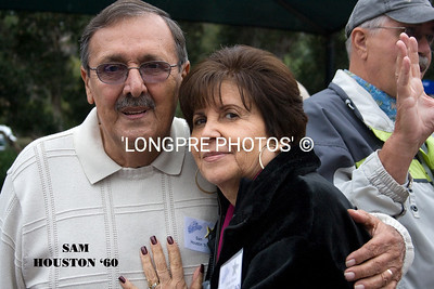 SAM HOUSTON  '60 with wife.