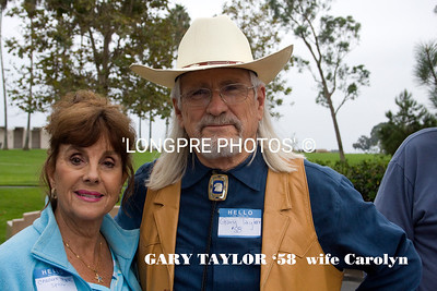 GARY and CAROLYN TAYLOR. He from class of 1958