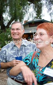 CAROL (Sam) FISCH, with dear friend Larry.
