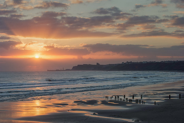 DAWN OVER WHITBY