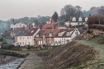 Sandsend Village Winter