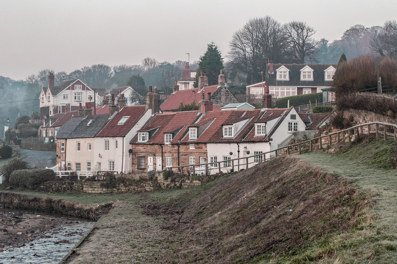 Sandsend Village Winter