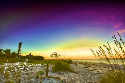 Morning on the Lighthouse Beach, Sanibel Island