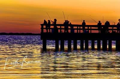 Sanibel Fishing per at sunrise