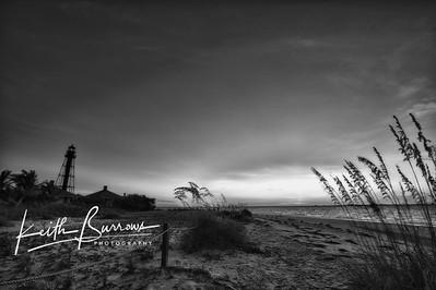 Pre Sunrise Glow at Lighthouse Beach