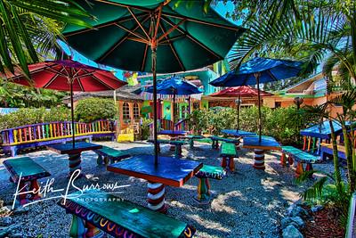 The Bubble Room waiting area, Captiva Island
