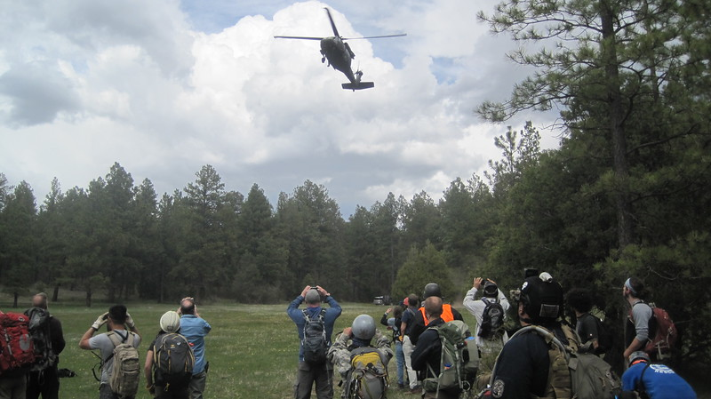 Helicopter Training with Taos SAR